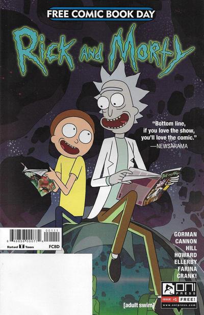 Rick and Morty #[nn] (2017)