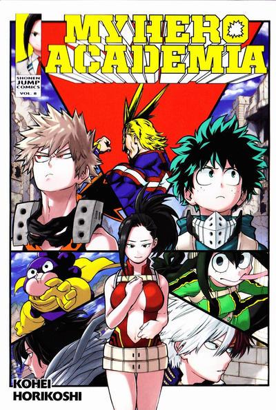 My Hero Academia #8 (2017)