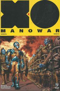 X-O Manowar #4 (2017)