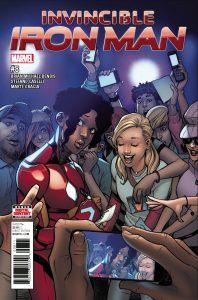 Invincible Iron Man #8 (2017)