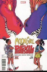 Moon Girl and Devil Dinosaur #21 (2017)