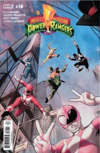 Mighty Morphin Power Rangers #18 (2017)