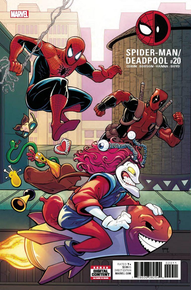 Spider-Man/Deadpool #20 (2017)