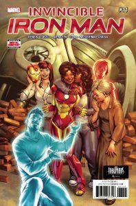 Invincible Iron Man #11 (2017)