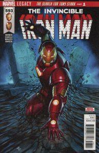 Invincible Iron Man #593 (2017)