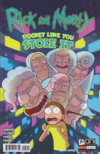 Rick and Morty: Pocket Like You Stole It #5 (2017)
