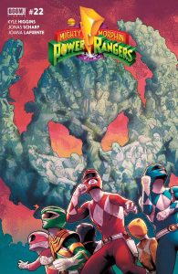 Mighty Morphin Power Rangers #22 (2017)