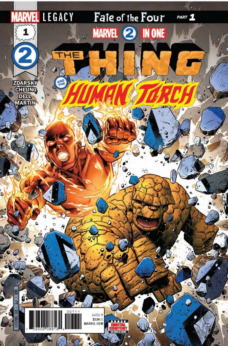 Marvel Two-In-One #1 (2017)