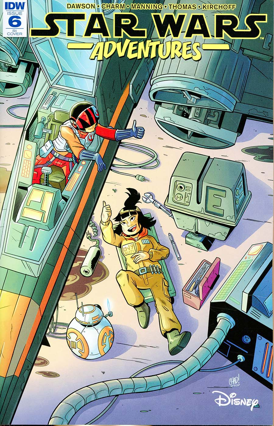 Star Wars Adventures #6 (2018)