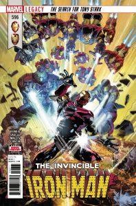 Invincible Iron Man #596 (2018)