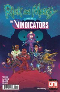 Rick and Morty Presents: The Vindicators #1 (2018)