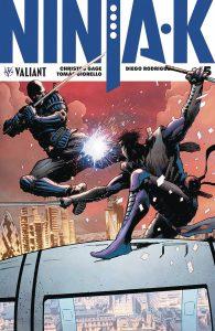 Ninja-K #5 (2018)