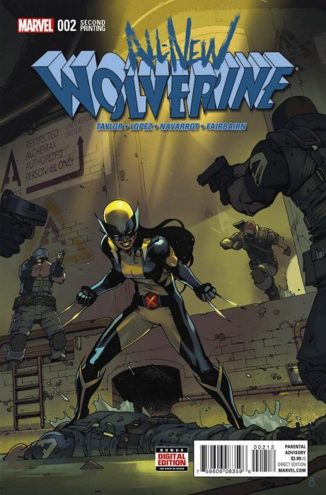 All-New Wolverine #2 (2016)