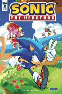 Sonic The Hedgehog #2 (2018)