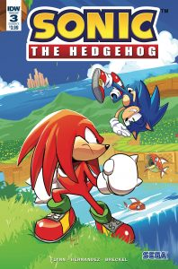 Sonic The Hedgehog #3 (2018)