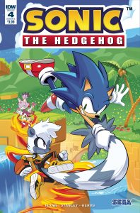 Sonic The Hedgehog #4 (2018)