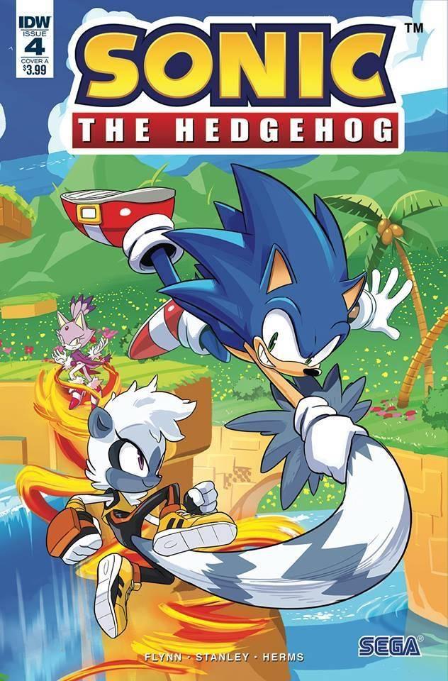 Sonic The Hedgehog #4 (2018)