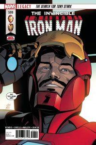 Invincible Iron Man #599 (2018)