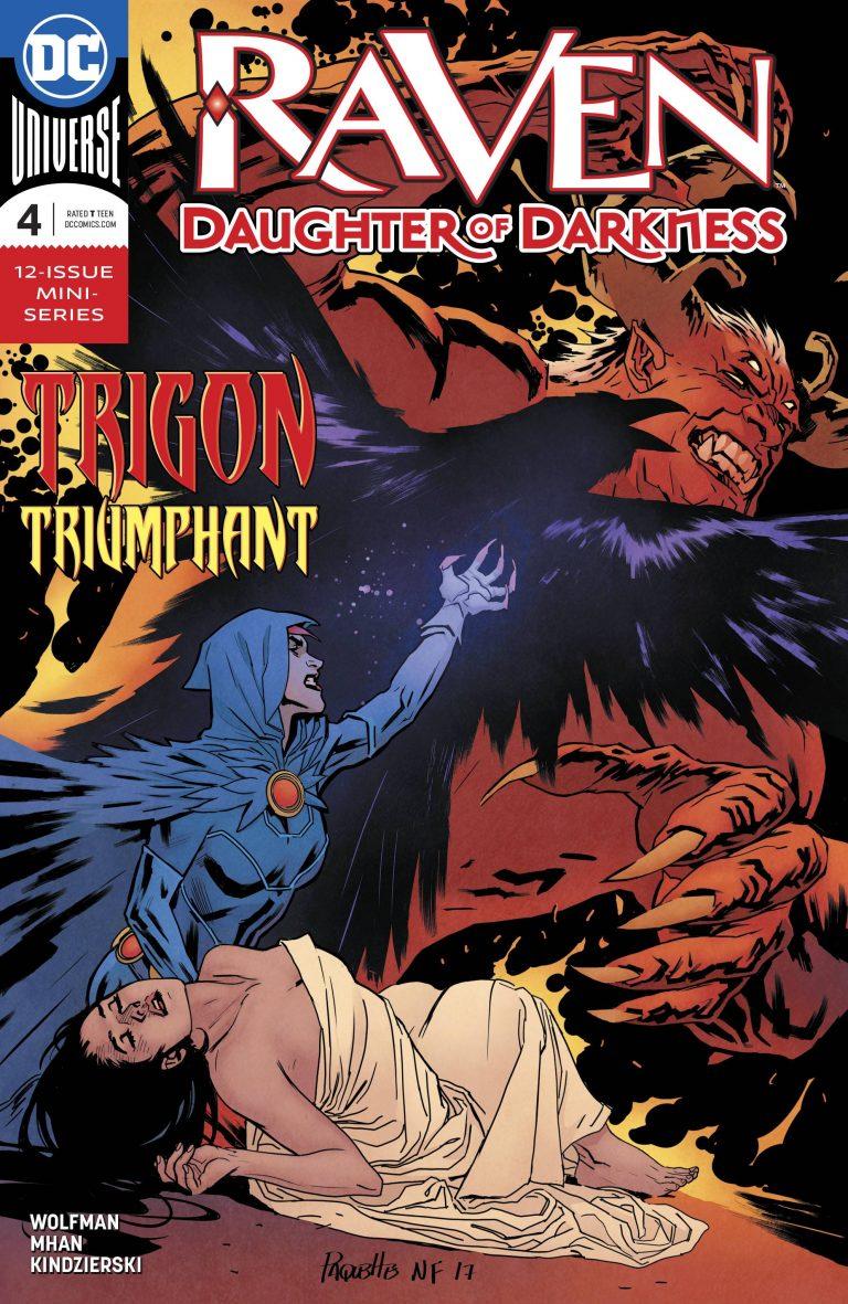 Raven: Daughter Of Darkness #4 (2018)