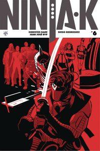 Ninja-K #6 (2018)
