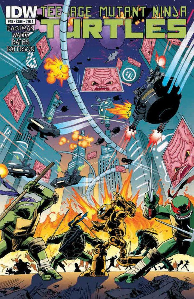 Teenage Mutant Ninja Turtles #18 (2013)