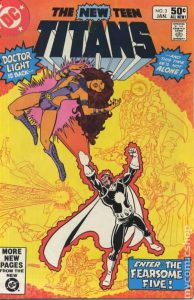 The New Teen Titans #3 (1981)