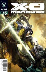 X-O Manowar #15 (2013)