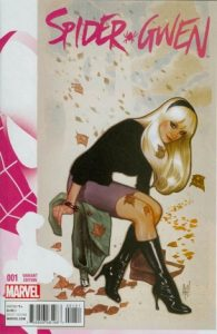 Gwen Stacy in sitting in an alley