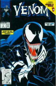 Cover of Venom on dark background