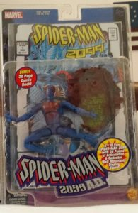 Spider-Man 2099 Toy Package