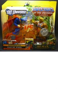 Superman vs. He-Man Toy Package