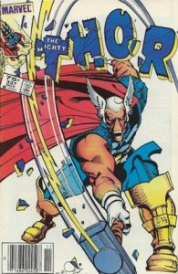 comic cover show a listing price of 75 cents and shows Beta Ray Bill posing