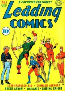 Leading Comics #1 (1941)