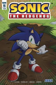 Sonic The Hedgehog #5 (2018)