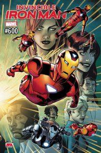 Invincible Iron Man #600 (2018)