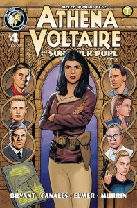Athena Voltaire and the Sorcerer Pope #4 (2018)
