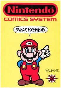 Nintendo Comics System Sneak Preview #[nn] (1990)
