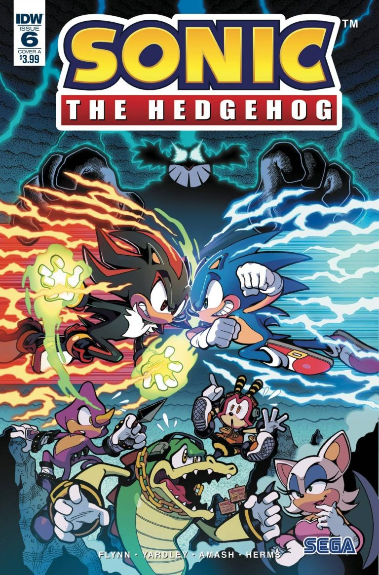 Sonic The Hedgehog #6 (2018)
