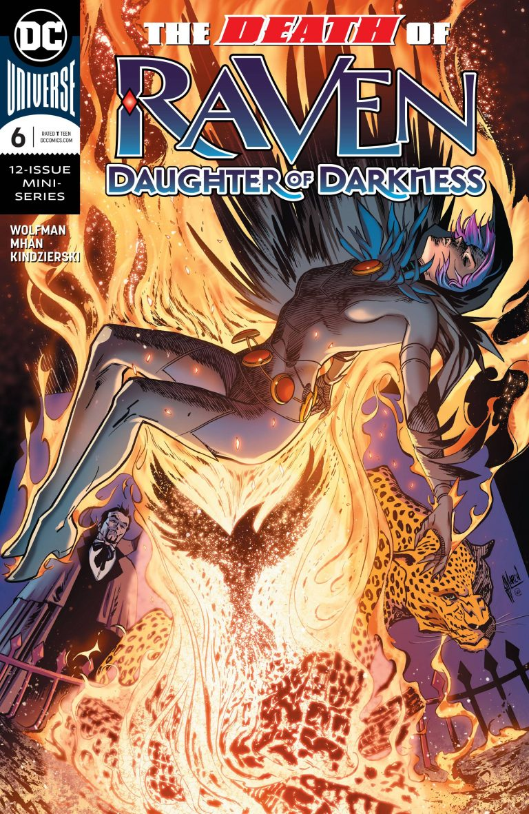 Raven: Daughter Of Darkness #6 (2018)