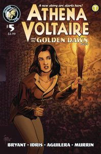 Athena Voltaire and the Sorcerer Pope #5 (2018)