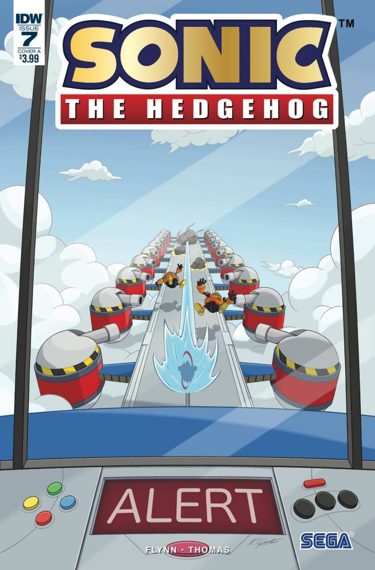 Sonic The Hedgehog #7 (2018)
