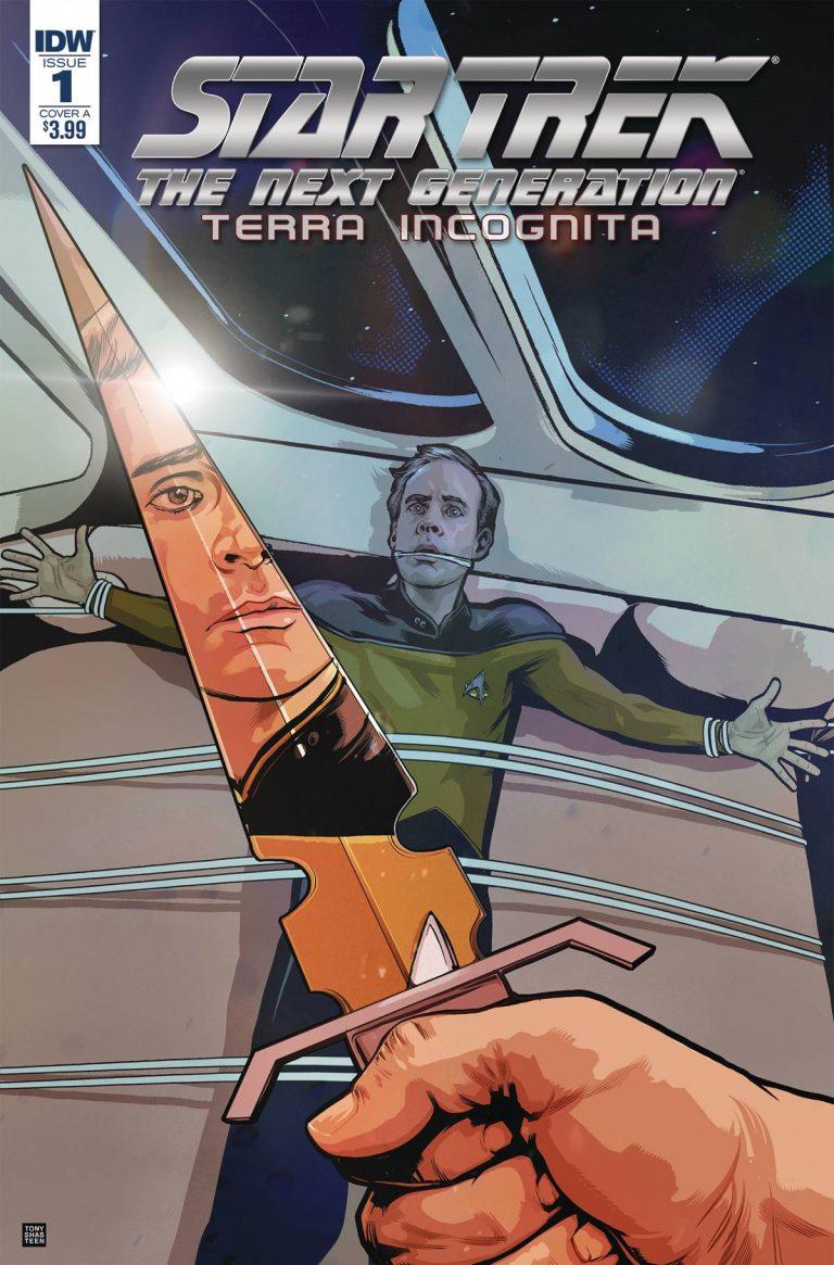 Star Trek The Next Generation: Terra Incognita #1 (2018)