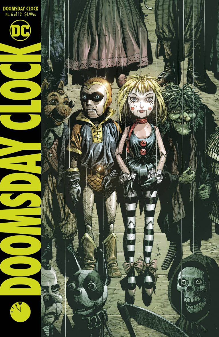 Doomsday Clock #6 (2018)
