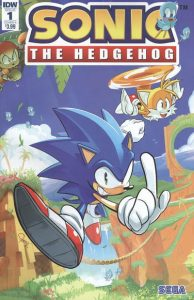 Sonic The Hedgehog #1 (2018)