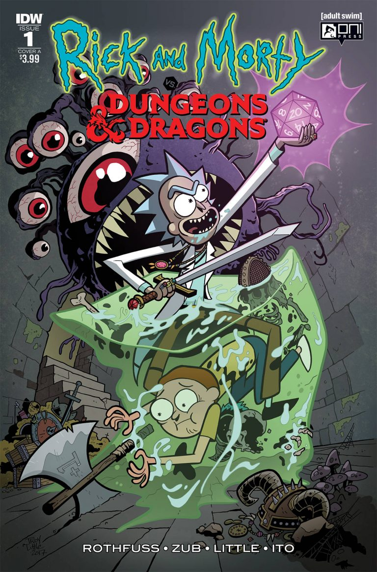 Rick and Morty vs. Dungeons & Dragons #1 (2018)