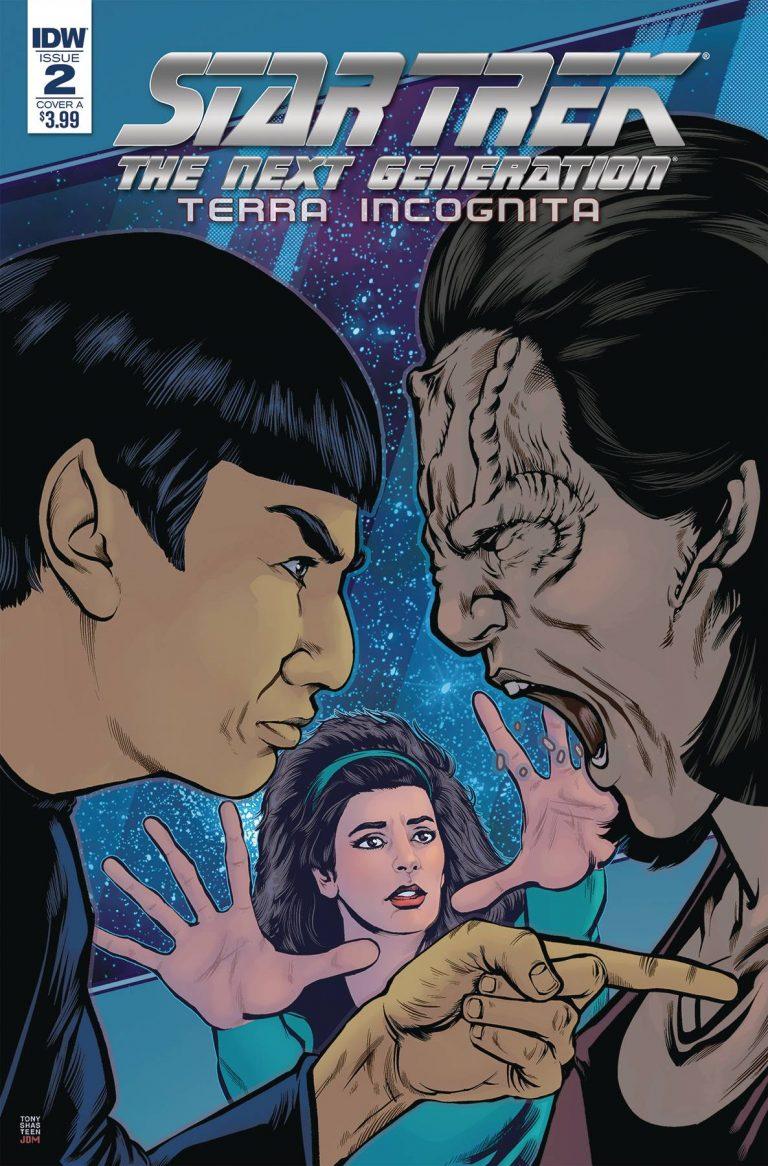Star Trek The Next Generation: Terra Incognita #2 (2018)