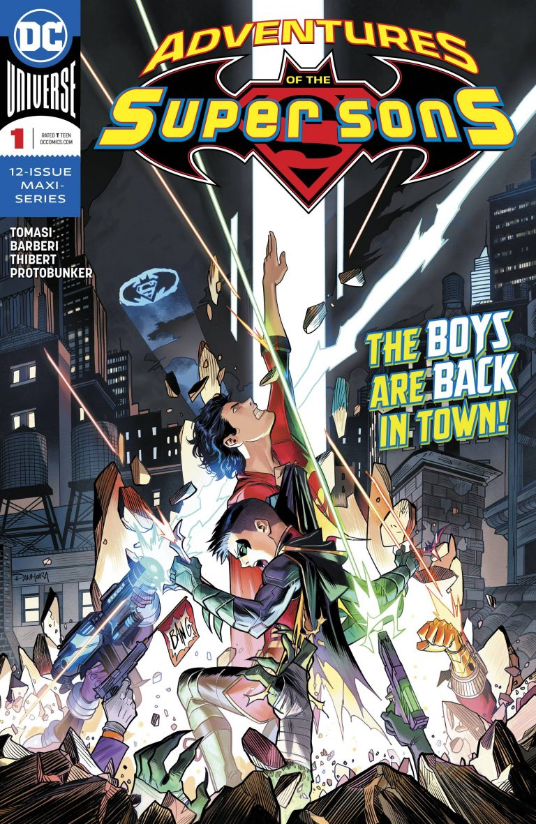 Adventures Of The Super Sons #1 (2018)