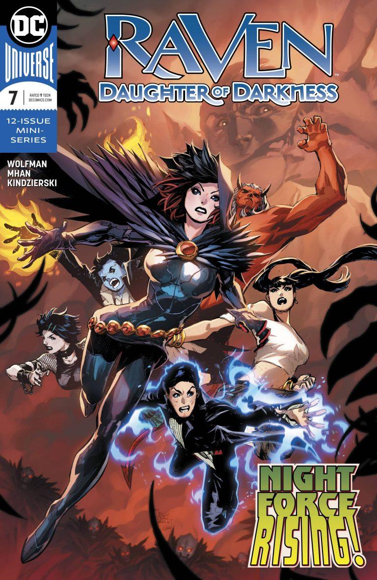 Raven: Daughter Of Darkness #7 (2018)