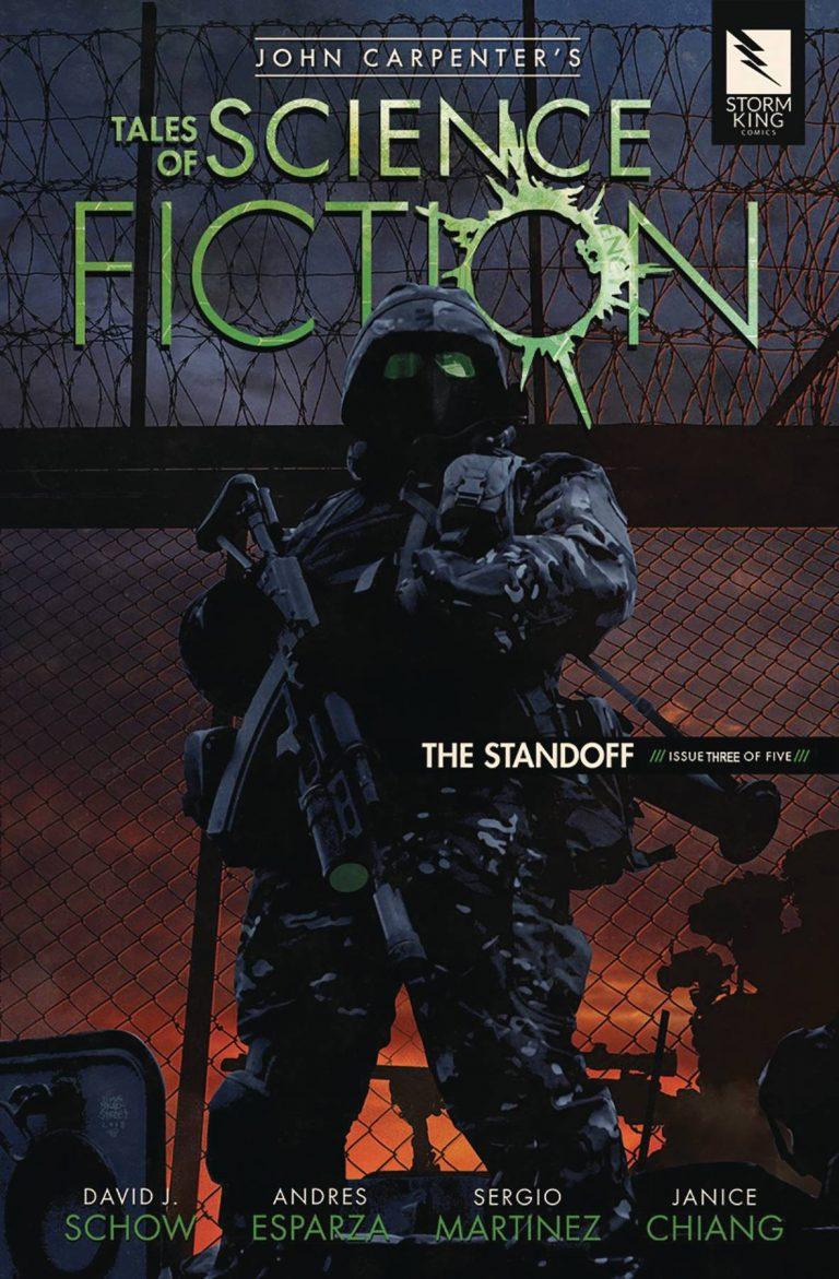 John Carpenter's Tales Of Sci Fiction: The Standoff #3 (2018)