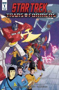 Star Trek vs Transformers #1 (2018)